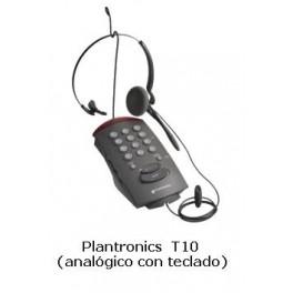Casco / teléfono Plantronics T10
